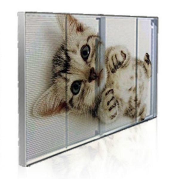 3.91mm führte transparentes Display ultra dünne Innen Transparenz Siebgewebe geführt