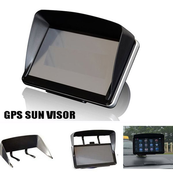 gps navigation accessories 4.3 / 5 / 7 inch frame gps universal sunshade sun shade screen visor hood block