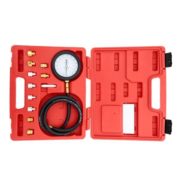 A0015 Wave Box Pressure Meter Oil Pressure Tester Gauge Test Kit Garage Tool TU-11A Auto Pressure Tester