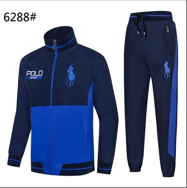 buy online c6936 7369e 2019 New Ralph Lauren Men'S Sportswear Hoodies And Sweatshirts Autumn And  Winter Jogging Sports Suit Men'S Sports Suit Sports Suit Tuta Spo From ...