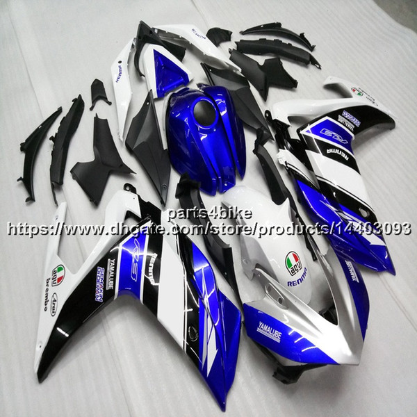 Gifts blue white Injection mold motorcycle Fairing For yamaha R3 YZF-R25 2015 2016 ABS motorcycle hull