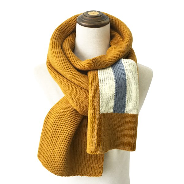 2020 autumn and winter new long warm men and women scarf korean version fashion students knitting scarf