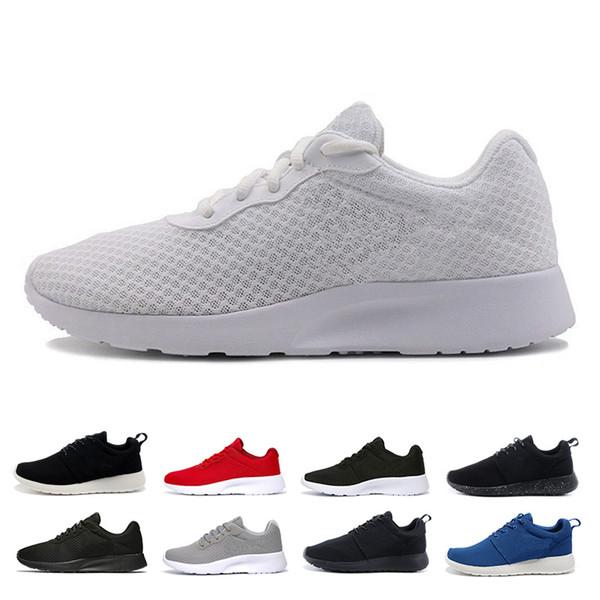 chaussures classiques Black White Run Tanjun 1.0 3.0 Femmes Hommes Chaussures de course olympique de Londres hommes de sport Chaussures de sport nous Formateurs 5,5-11