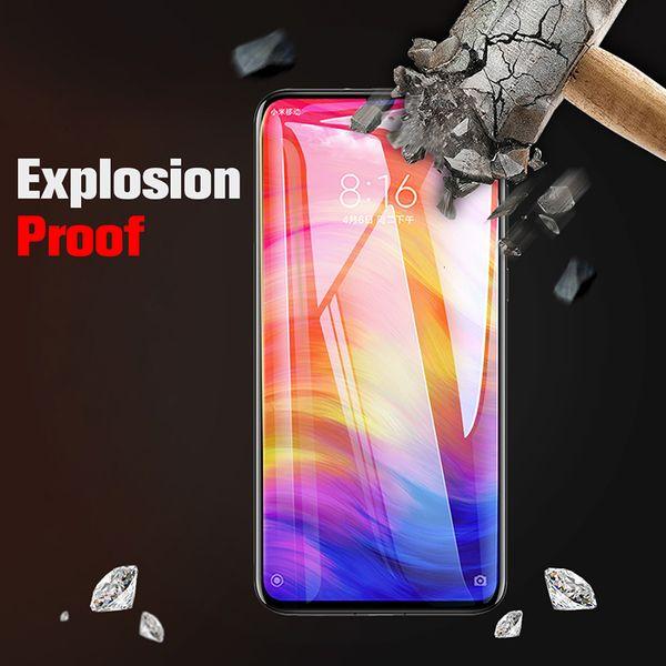 протектор экрана 9D полного закаленное стекло для Xiaomi реого K20 Pro Y3 Y2 Y1 Lite S2 защитной крышка, закрывающей пленки