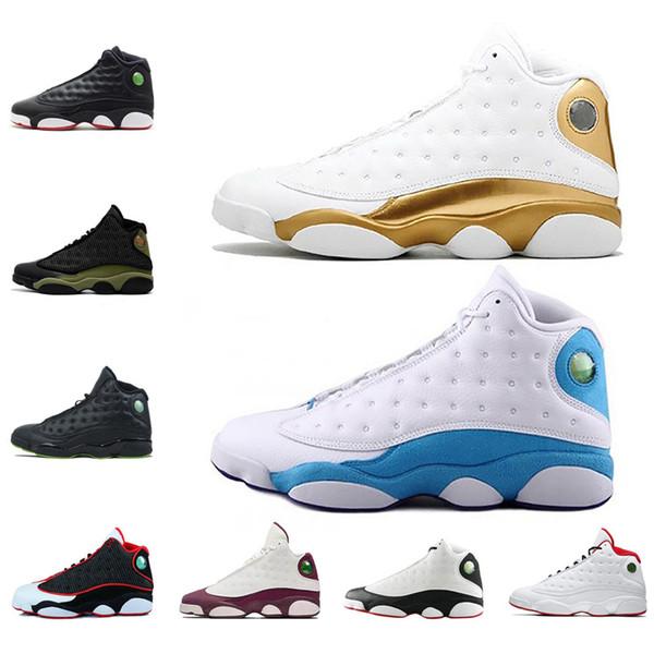 13 Hiper Kraliyet GS İtalya Mavi zeytin erkekler basketbol ayakkabıları 13 s erkek spor Sneaker Atletizm Ayakkabı boyutu 41-47