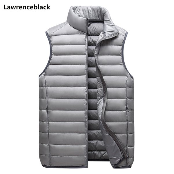 2019 mens outdoors vests 50% white duck down padded men's coats slim fit waistcoat warm sleeveless jacket quality outwear 2010 thumbnail