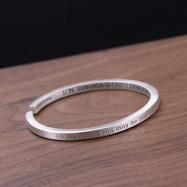 Golden Deer Kingfoot Silver Dumm Liebhaber Brief Quadrat Feste Buchstaben Armband Valentines Festival Geschenke Großhandel