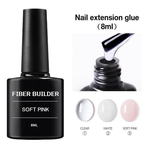10PCS Nail Art Fiberglass Non-woven Silk Wrap Nail Extension Repair Fiber Fiberglass Glue DIY Manicure Accessories