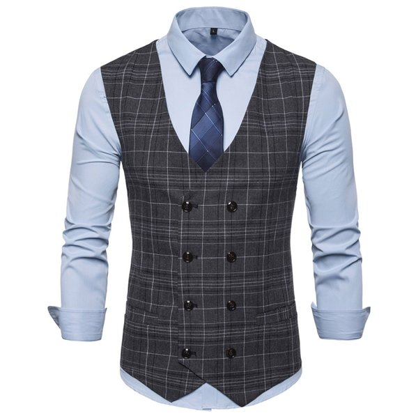 Moda uomo Classica giacca scozzese britannica Gentleman Business Man Abito formale Blazer Cappotto per occasione formale Matrimonio