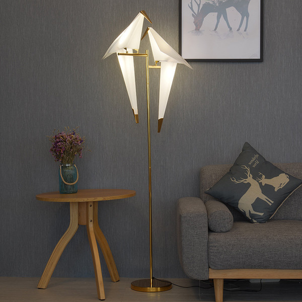 2019 Floor Lamps Modern Europe Design Metal Stand Lamp Nordic Creative  Floor Lamp Living Room Bedroom Bird Lampshade Reading Lamps From  Rangcy2008, ...