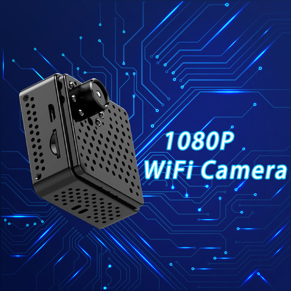 HD1080P Camcorder wireless P2P IP wifi mini camera with prominent camera lens can be well concealed video recording camcorder