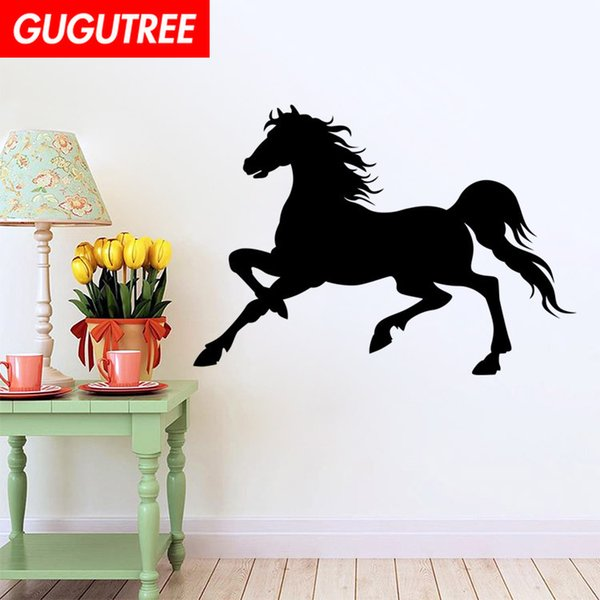 Decorate Home horse cartoon art wall sticker decoration Decals mural painting Removable Decor Wallpaper G-1637