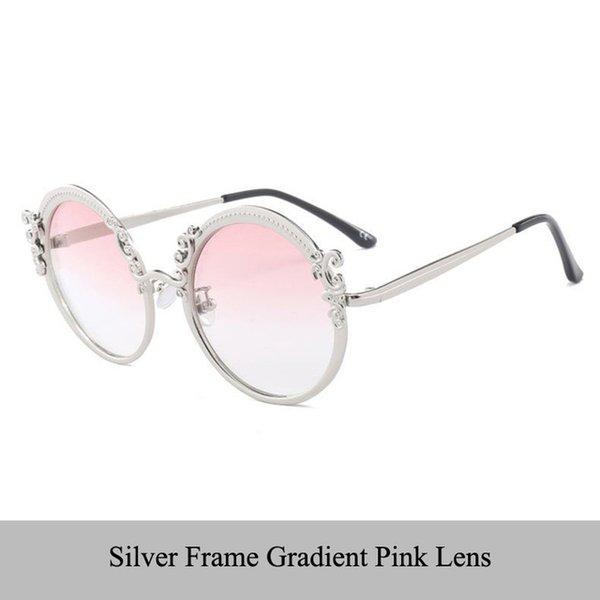 Couleur des lentilles: lentille rose dégradé