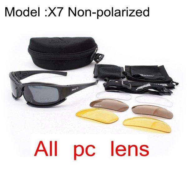 X7 nicht Polarisiert