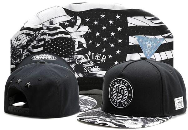 2019 wholesale cayler sons snapback hats casquette bone sport cap Fuckin 99 Problems snap back dad hat Cayler&Sons ball Adjustable cap