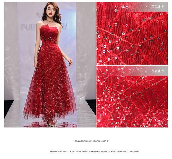Coloridas flores de gasa bordado de malla Floeal telas de tela de encaje de bricolaje vestido de tela ropa materiales de tela