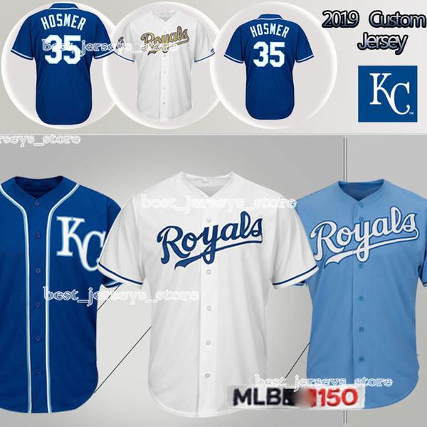 cheap for discount b9e45 0e8f2 2019 Kansas City Jerseys Royals 5 George Brett 4 Alex Gordon Jersey 35  Hosmer Design Sweater 2019 From Best_jerseys_store, $26.95 | DHgate.Com