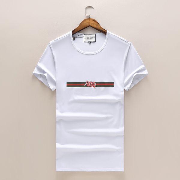 Coton T Shirt Nouveau 2019 D'été Été O-cou À Manches Courtes Slim T-Shirt Marque Petit Cheval Broderie Casual Hommes Femmes Vêtements de Haute Qualité