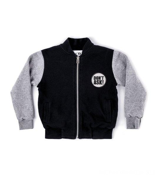 abrigo gris 130-Negro