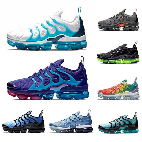 best selling Regency Purple TN Plus Men Running Shoes Spirit Teal Blue Fury Active Fuchsia Women Mens Laser Orange Megatron Trainers tns Sports Sneakers