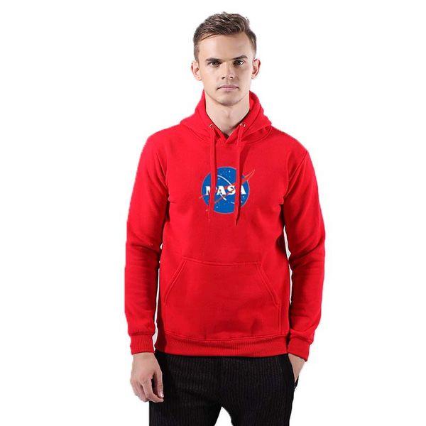 Tendance NASA Sweatshirt Men Luxury dans The Martian Matt Damon Sweats à capuche et sweatshirts
