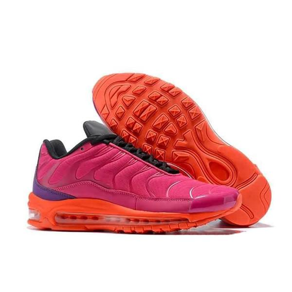 Original Uomo Donna 7 Plus Scarpe da corsa Plus Designer Scarpe da ginnastica da donna Retro Sport Sneakers Taglie 36-46 Gomma