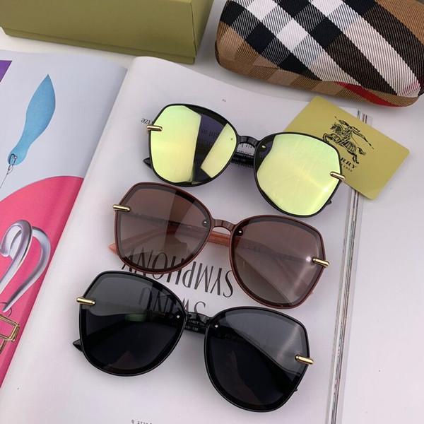 b97aa2530b1a2 Rodada óculos de sol inglês letras abelha pouco óculos de sol das mulheres  dos homens marca