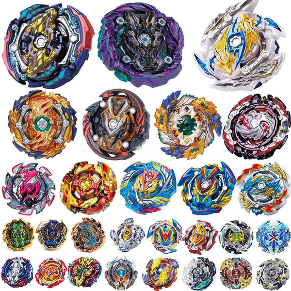 top popular Over 100 Styles 4D Beyblade Burst Toys Arena Beyblades Metal Fighting Explosive Gyroscope Fusion Fashion Spinning Top Bey Blade Blades 2020
