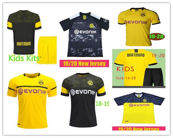 sale retailer d0891 8cb45 2019 19 20 Bvb Dortmund Soccer Jersey REUS SANCHO Football Shirt KAGAWA  WITSEL GOTZE ACHRAF Camiseta De Foot 2018 2019 SANCHO WOMEN Man Kids Kits  From ...