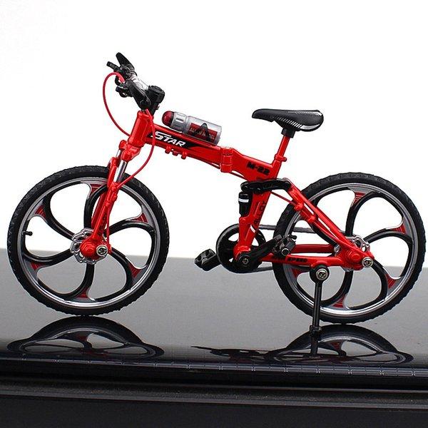 Folding Mountain Bici roja