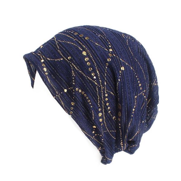 Korean fashion leisure pile cap thin spring and autumn comfortable breathable sleeping cap pregnant woman's month cap