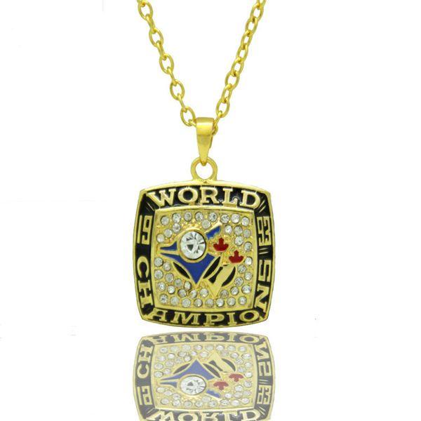 Neueste baseball sport Toronto Bluebird Halskette baumeln charms glas anhänger herz schwimm charme halskette armband schmuck machen