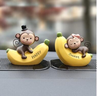 Banana Macaco 7cm