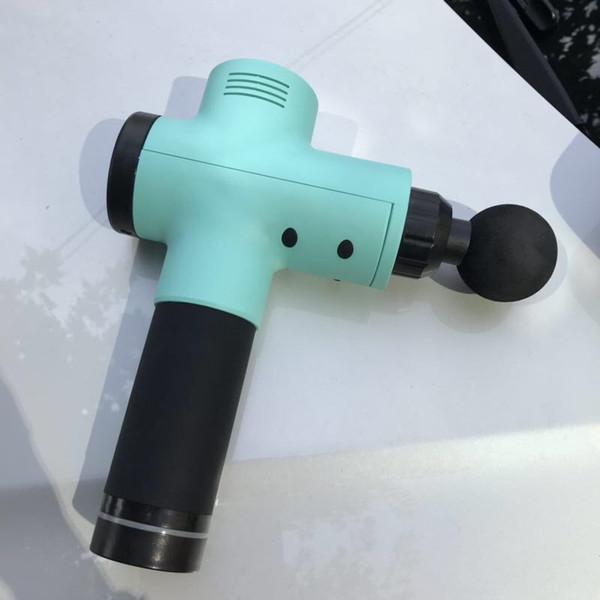 Nuevo producto Pistola de fascia eléctrica Relajante muscular Silenciador de alta frecuencia Silenciador profundo Impacto Masajeador Pistola de masaje de alta calidad
