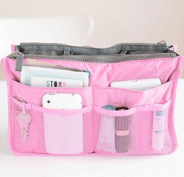 Wholesale- Pop Sale Korean Style Multifunction Nylon Makeup Bag High-Capccity Travel Bag Storage Bag Purse Organizer Bags ZB-515