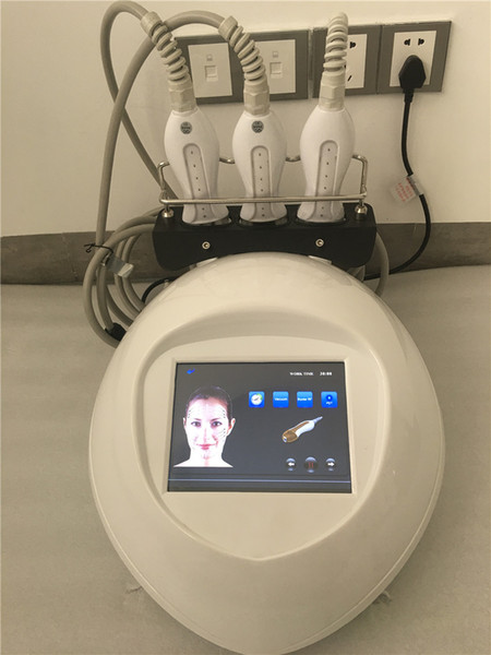 RU+7 Mini blue beam wave frequency electric wrinkle remover vacuum thermal RF machine for body/face/eyes