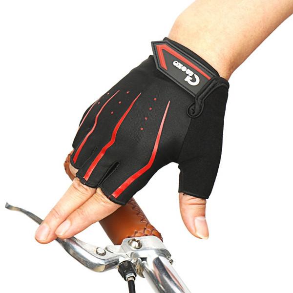 Half Finger Cycling Gloves MTB Road Gloves Mountain Bike Padded Gym Fitness Breathable Non-slip Women Men's Sportswear