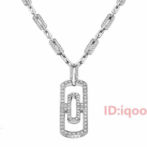 collier argent et diamant femme