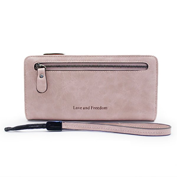 Woman's wallet High-end multi-function clutch Long ladies wallet Retro coin purse Large card package porte feuille femme