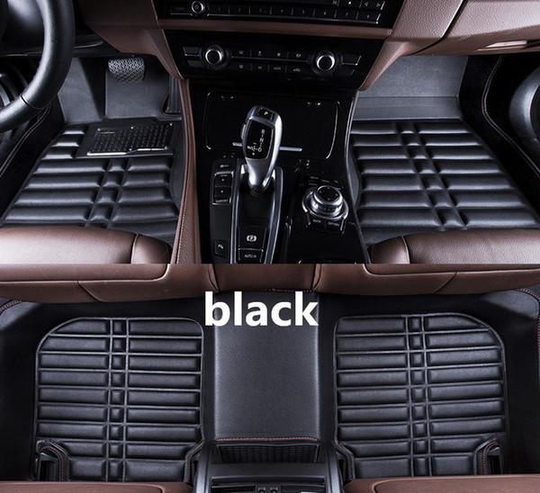top popular Jeep Grand Cherokee 2005-2010 car floor mat non-slip waterproof leather carpet car luxury mat 2019