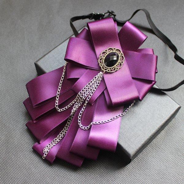 모조 다이아몬드 나비 넥타이 4