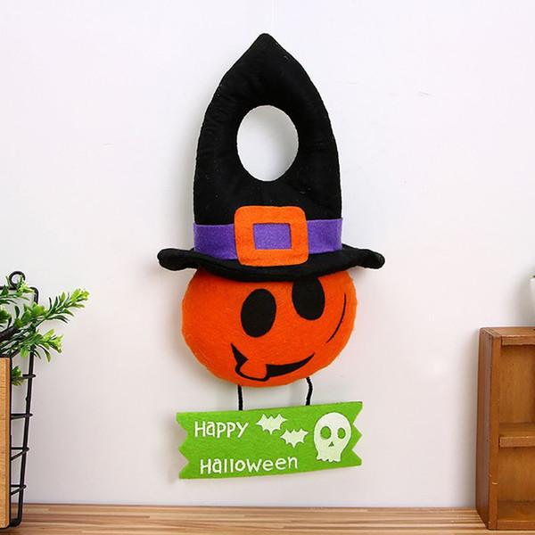 Bruja de Halloween Muñeca Colgantes Muñeca de peluche Regalo para Decoración de Halloween Bricolaje Decoración de fiesta Suministros Casa Bar Fiesta Colgante de puerta
