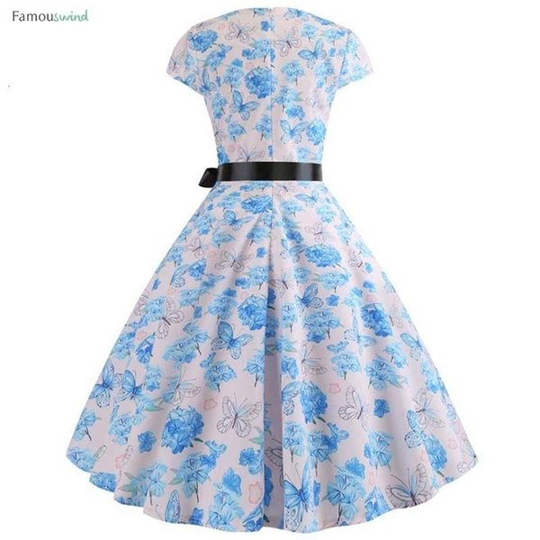 Florais mulheres vestem vestidos de manga Partido elegante curto Imprimir vestidos vintage Femme Verão Midi Bodycon Vestido Plus Size roupas de grife