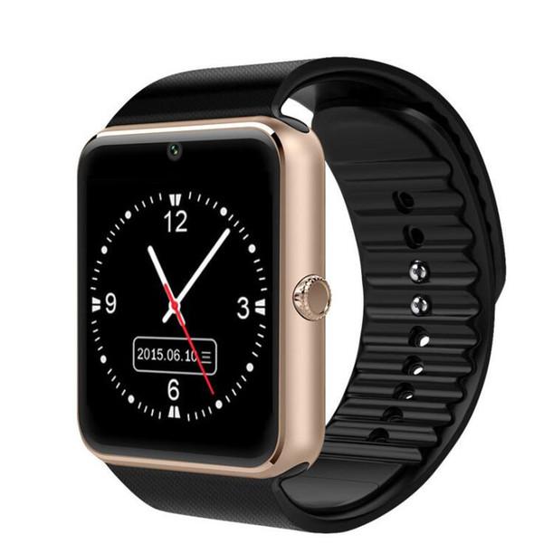 Wearable Smart Watch GT08 Supoport SIM TF Cards Bluetooth Watch Mens Man Women Kids Wrist Watch For Sports Sleep Working