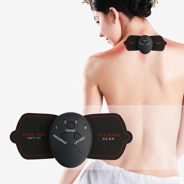 Électrique Stimulation Musculaire Machine De Massage Impulsion Numérique Épaule Cervicale Colonne Vertébrale Masseur Corps Tonifiant Fitness Outil LLA474