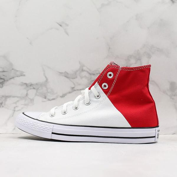 Chuck 1970s Taylor Star Clásico Joker Zapatos de lona Día de San Valentín Amor Rojo Blanco Empalme Hombres Mujer Casual Deportes Skateborad