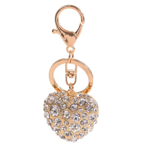 رائعة سبيكة القلب مفتاح سلسلة قلادة الحب زوجين هدية صغيرة سيدة الجلود حقيبة الديكور سيارة قلادة