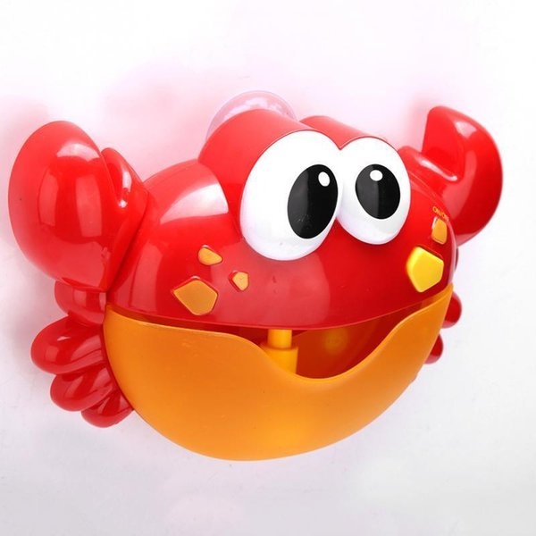 2019 Kids Bath Crab Shaped Bubble Maker With Baby Songs Automatic Cartoon  Kids Children Funny Joy Bubble Electric Bath Shower Toy C19021301 From