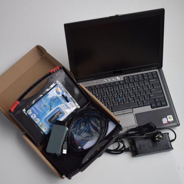 Für D-ell D630 Laptop + VAS5054A OKI Full Chip Bluetooth-Funktion unterstützen vas5054a Diagnosescanner das UDS-Protokoll + ODIS V4.4.1