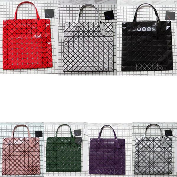 Fashion Designer Women handbags Bao Lucent Matte Women Purses Folding geometric Handbag1563863324968